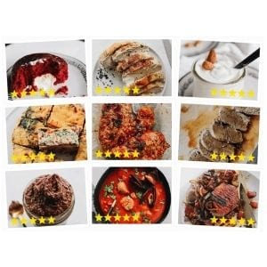 showing 9 different Keto Diet Recipes meals you can make on the keto shortcut system