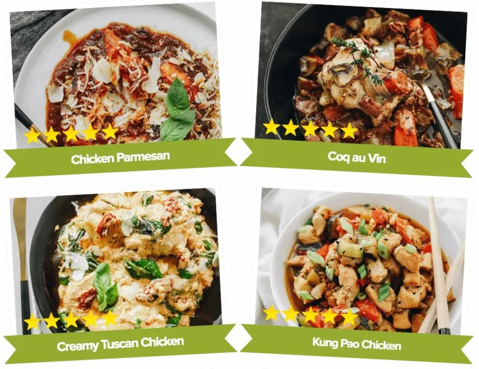the shortcut keto diet system chicken dishes