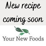New recipe coming soon message