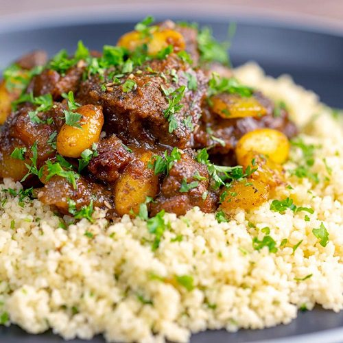 Lamb recipes for Easter Moroccan Lamb Tagine with Dates & Almonds