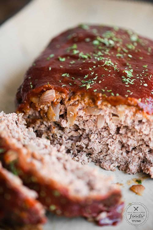 Easy Ground Beef Recipes Granny's Classic Meatloaf