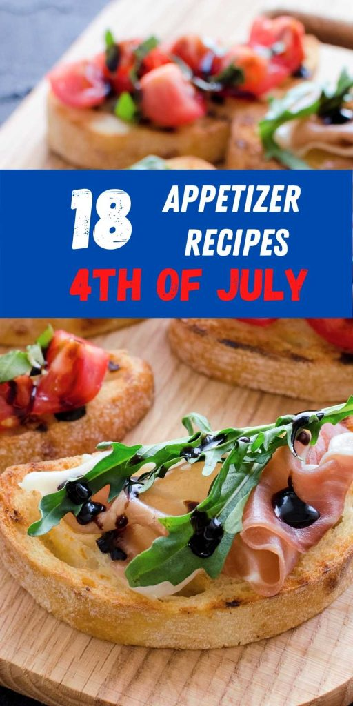 4th july appetizer recipes