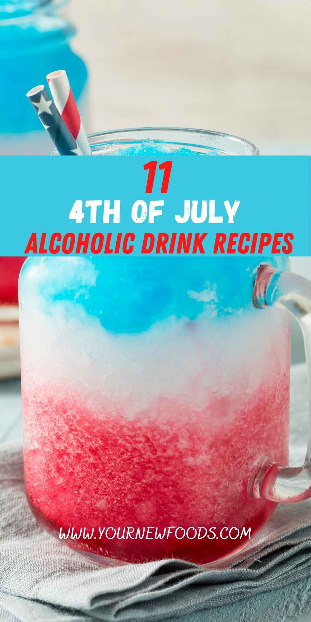 4th of July Drinks Alcoholic Recipe