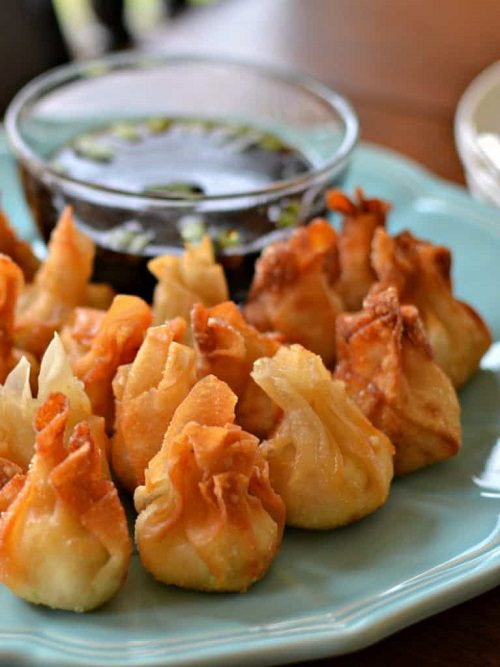 Cream Cheese Wontons With Chicken And Pepper Jack