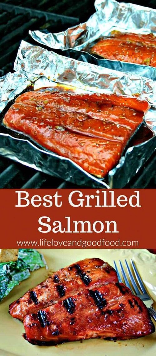 4th of July BBQ Food The Best Grilled Salmon
