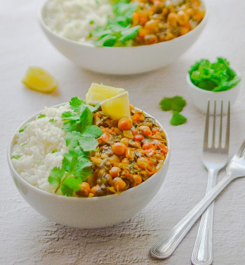 Vegan Curries Recipes Chickpea Spinach Curry (Vegan & Nutritious Curry)